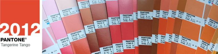 pantone colour 2012