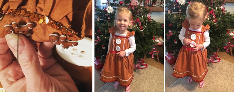 ella gingerbread dress